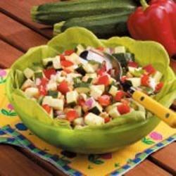 Photo of Heavenly Zucchini Salad by Doris  Roach