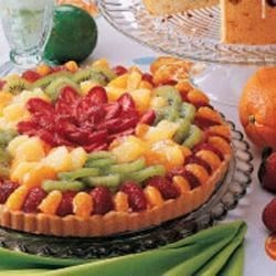 Photo of White Chocolate Fruit Tart by Claire  Darby