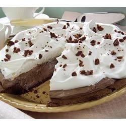 Mile-High Fudge Brownie Pie Recipe