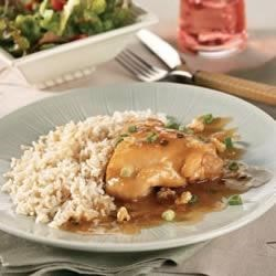 Photo of Orange Chicken with Green Onions and Walnuts by Campbell's Kitchen