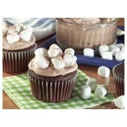 Hot Cocoa Marshmallow Cupcakes Recipe