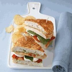 Chicken Caprese Sandwiches Recipe