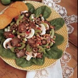Photo of Pork and Spinach Salad by Marian Pratt