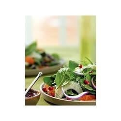 POM Spinach, Tangerine and Fennel Salad with Pomegranate Vinaigrette