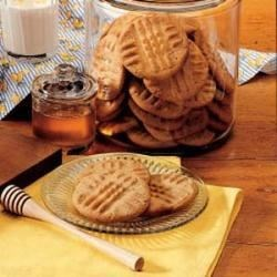 Photo of Honey-Peanut Butter Cookies by Lucile  Proctor