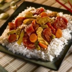 Thai Chicken and Vegetable Curry Recipe