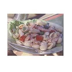 Pasta Salad with Shrimp and Basil Recipe