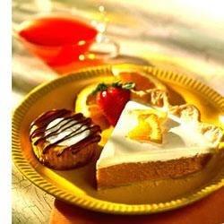 Sour Cream Orange Pumpkin Pie Recipe