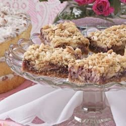 Photo of Raspberry Cream Cheese Bars by Lisa  Corroo