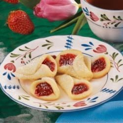 Photo of Strawberry Wedding Bell Cookies by Laurie  Messer