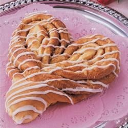 Photo of Heart-Shaped Coffee Cake by Norma  Hammond