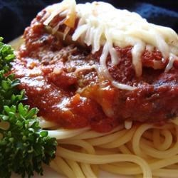 Beef Parmesan with Garlic Pasta Recipe