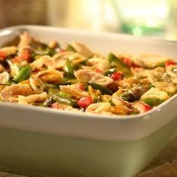 Golden Green Bean Casserole Recipe