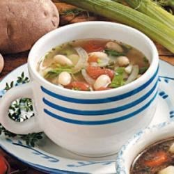 Photo of White Bean Fennel Soup by Donna  Quinn