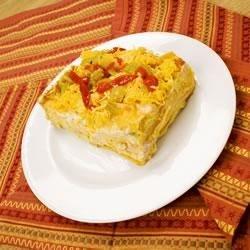 Southwest Style Turkey Casserole Recipe