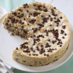 Ghirardelli Coconut Almond Torte with Chocolate Chips
