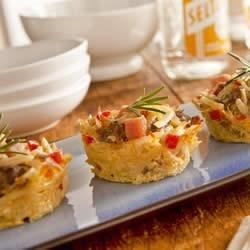 Hand Held Hashbrown Casseroles