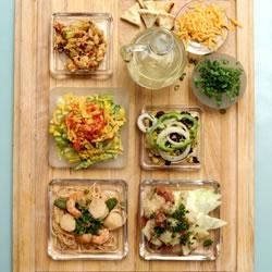 Photo of Layered Mexican Salad by The Canola Info Virtual Kitchen