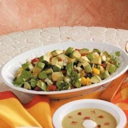 Photo of Fiesta Chopped Salad by Merwyn  Garbini