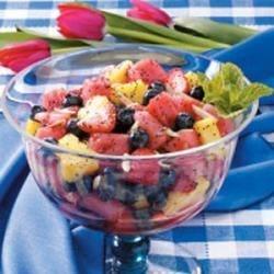 Photo of Poppy Seed Fruit Salad by Edie  DeSpain