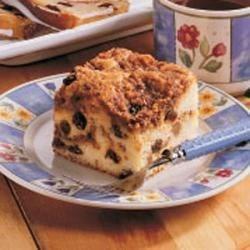 Photo of Raisin Buttermilk Coffee Cake by Lauren  Heyn