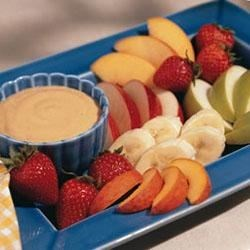 Peanut Butter Fruit Dip Recipe