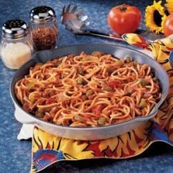 Photo of Spaghetti Skillet by Margery  Bryan