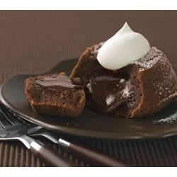 Photo of Molten Chocolate Cakes by BAKER'S Chocolate