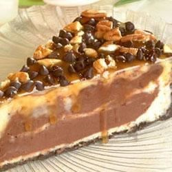 Turtle Cheesecake from Nestle(R) Nesquik(TM) Recipe