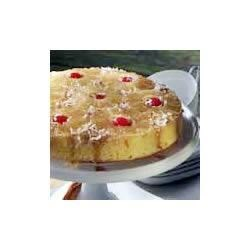 Pineapple Coconut Upside-Down Cake Recipe