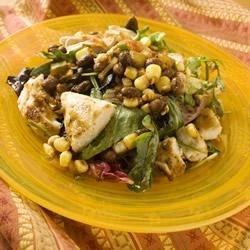 Warm Fiesta Chicken Salad Recipe
