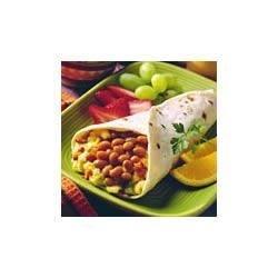 BUSH'S(R) Breakfast Egg and Bean Burritos Recipe