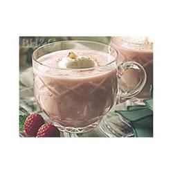 Berry Eggnog Punch Recipe