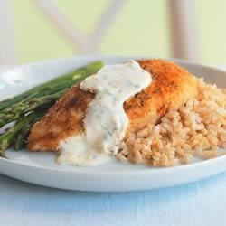 Photo of Parmesan-Crusted Chicken in Cream Sauce by Philadelphia
