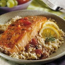 Balsamic Glazed Salmon Recipe