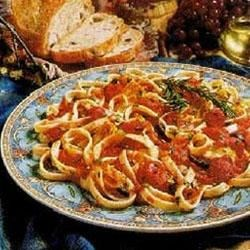 Pasta 'All Amatriciana' with Artichokes and Olives Recipe