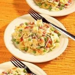 Pasta, Peas and Prosciutto Recipe