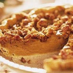 Photo of Pumpkin-Praline Pie by Southern Living magazine