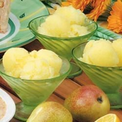 Photo of Gingered Pear Sorbet by Donna  Cline