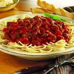 Speedy Spaghetti Dinner Recipe