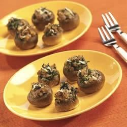 Super Sausage Stuffed Mushrooms Recipe