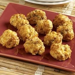 Sausage Cheese Puffs Recipe
