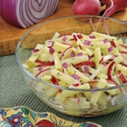Photo of Radish Cucumber Salad by Mildred Sherrer