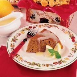 Gingerbread with Lemon Sauce