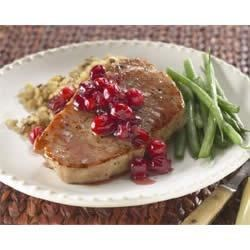 Autumn Glazed Pork Chops Recipe
