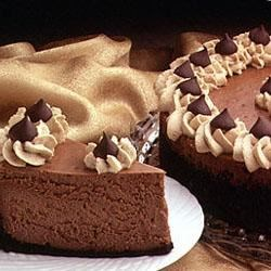 Photo of Cappuccino-Kissed Cheesecake by HersheysKitchens.com