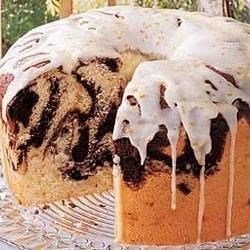 Photo of Marble Chiffon Cake by Taste of Home