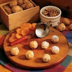 Photo of Apricot Walnut Balls by Phyl  Budreau