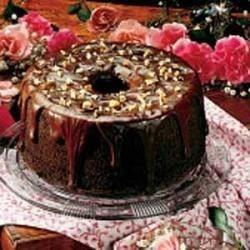Photo of Rich Chocolate Chiffon Cake by Erma Fox
