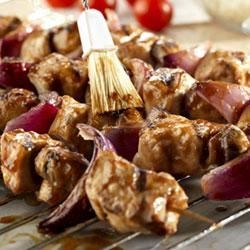 Photo of Teriyaki Pork Kabobs by Campbell's Kitchen